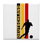 GERMANY FOOTBALL 3 Tile Coaster
