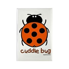 cuddle bug Rectangle Magnet