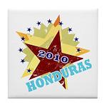 HONDURAS FUTBOL 4 Tile Coaster