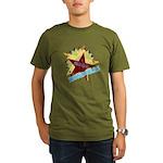 HONDURAS FUTBOL 4 Organic Men's T-Shirt (dark)