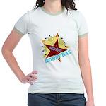 HONDURAS FUTBOL 4 Jr. Ringer T-Shirt