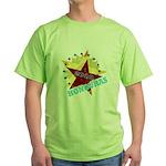 HONDURAS FUTBOL 4 Green T-Shirt