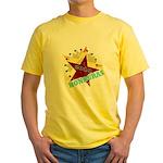 HONDURAS FUTBOL 4 Yellow T-Shirt