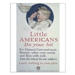 Little Americans Do Your Bit Small Poster