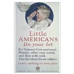 Little Americans Do Your Bit Large Poster