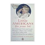 Little Americans Do Your Bit Mini Poster Print