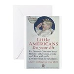 Little Americans Do Your Bit Greeting Cards (Pk of
