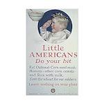 Little Americans Do Your Bit Sticker (Rectangle)
