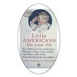 Little Americans Do Your Bit Sticker (Oval 10 pk)