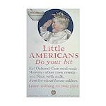 Little Americans Do Your Bit Sticker (Rectangle 10