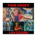 5 Toms in 100 Years Tile Coaster