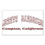 Jerry's Barbecue Sticker (Rectangle)