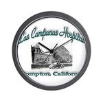 Las Campanas Hospital Wall Clock