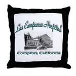 Las Campanas Hospital Throw Pillow