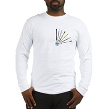 Unique Skiing Long Sleeve T-Shirt