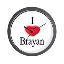 Brayan Wall Clock