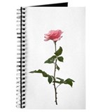 Pink Rose Faux Pastel Journal