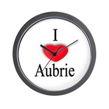 Aubrie Wall Clock
