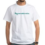 Squarebirds White T-Shirt