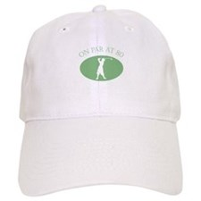 On Par At 80 Baseball Cap