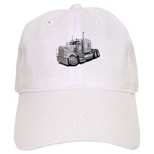 Kenworth W900 White Truck Baseball Cap
