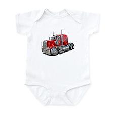 Kenworth W900 Red Truck Infant Bodysuit