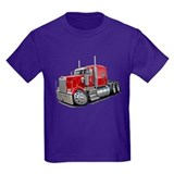 Kenworth W900 Red Truck T