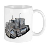Kenworth W900 Silver Truck Mug