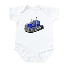 Kenworth W900 Blue Truck Infant Bodysuit