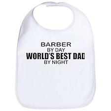 World's Best Dad - Barber Bib