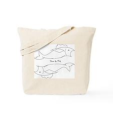 """Pisces Zodiac"" Tote Bag"