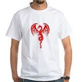 Red Tribal Dragon  Shirt