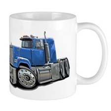 Mack Superliner Lt Blue Truck Mug