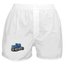 Mack Superliner Lt Blue Truck Boxer Shorts