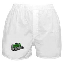 Mack Superliner Green Truck Boxer Shorts