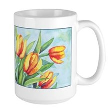 Tulips Watercolor Mug