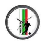 MEXICO FUTBOL 3 Wall Clock