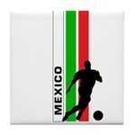 MEXICO FUTBOL 3 Tile Coaster