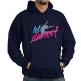Let's Dance with Leaping Dancer Hoodie Sweatshirt