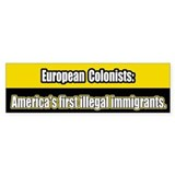Illegal Immigration Bumper Bumper Sticker