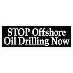 Stop Offshore Oil Drilling Bumper Sticker
