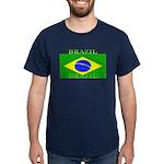 Brazil Brazilian Flag Blue T-Shirt