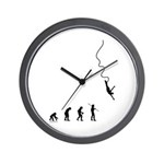 Bungee Evolution Wall Clock