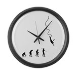 Bungee Evolution Large Wall Clock
