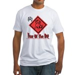 Year of the Dog Fitted T-Shirt