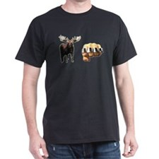 Moose Knuckle Black T-Shirt