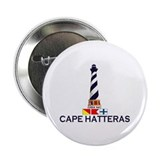 "Cape Hatteras NC - Lighthouse Design 2.25"" Bu"