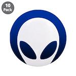 """Boton Alien 3.5"""" (10 pack)"""
