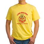 Lions Drag Strip Yellow T-Shirt