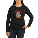 Lions Drag Strip Women's Long Sleeve Dark T-Shirt